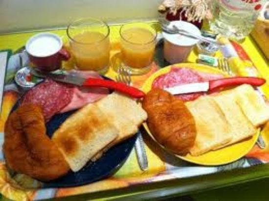 Gli Scipioni Bed & Breakfast: Pode-se comer sempre bem na Cozinha do David.