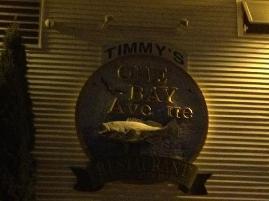 Timmy's Waterfront Restaurant & Landing: entrance