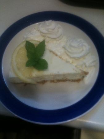 Barkers: Homemade Lemon Cheesecake