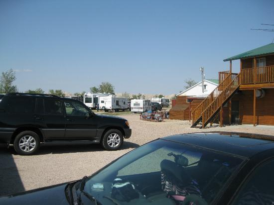 Badlands Interior Motel and Campground: view of campground