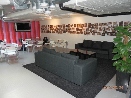 Stockholm Hostel : Living Room