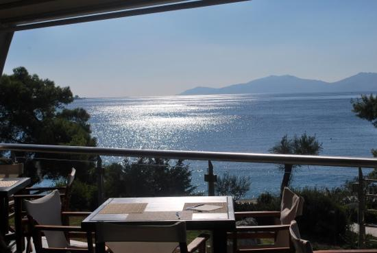 Barcelo Hydra Beach Resort: vista dalla terrazza ristorante!