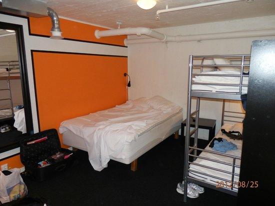 Stockholm Hostel: Room