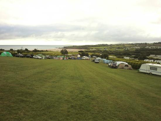 Tyddyn Isaf Camping and Caravan Park : One of the Camping fields.