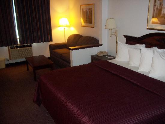 Quality Inn & Suites Eldridge On The Edge of Davenport Iowa : Business King Rooms New Beds 2011