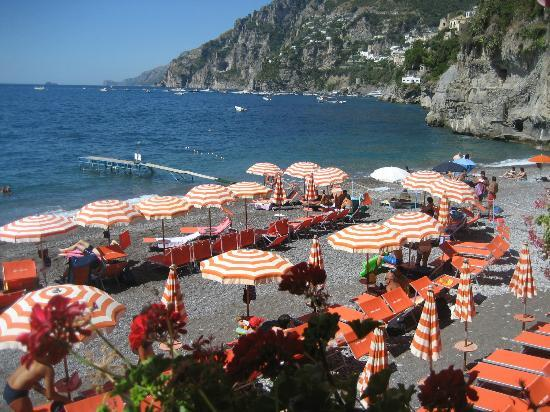 Bagni d'Arienzo: the beach