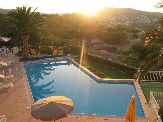 Hotel Funtana Marina: vue de la chambre.