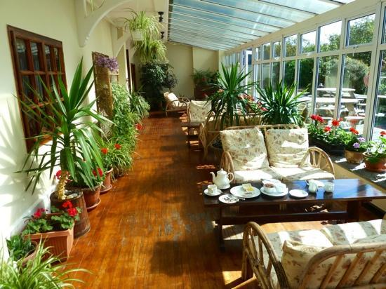 Renvyle House Hotel: sun room