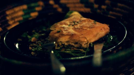 Beldy Restaurant: Briouate aux légumes
