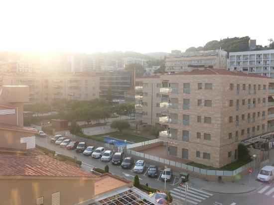 Internacional Hotel: vue sur la ville