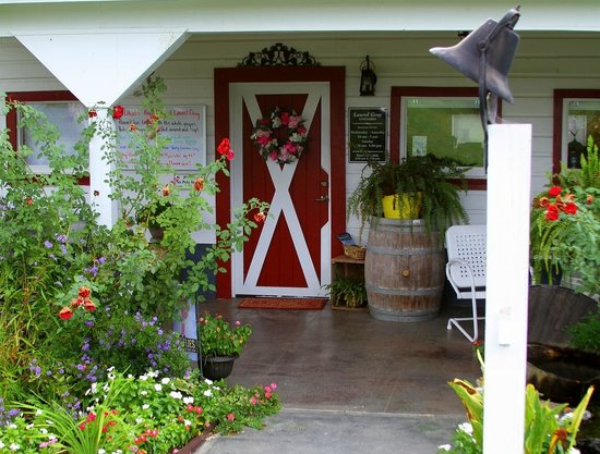Hamptonville, NC: The entrance of the tasting room