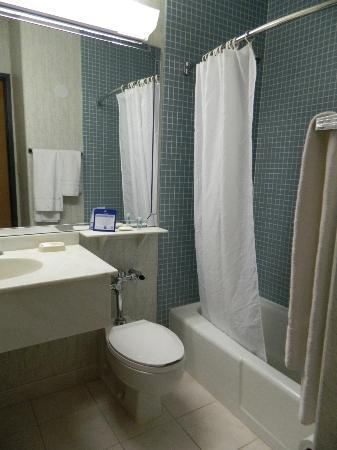Best Western Plus Waterbury - Stowe: Bathroom was the least favourite part of our stay
