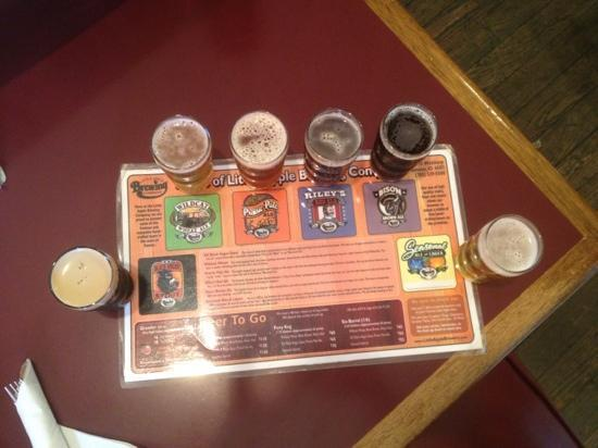 Little Apple Brewing Company: the sampler