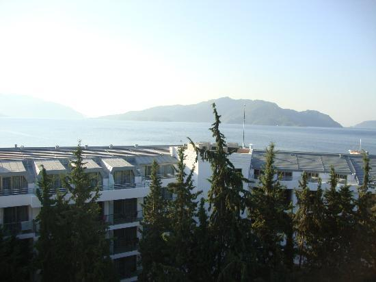 Kayamaris Hotel : beautiful view from our baclcony
