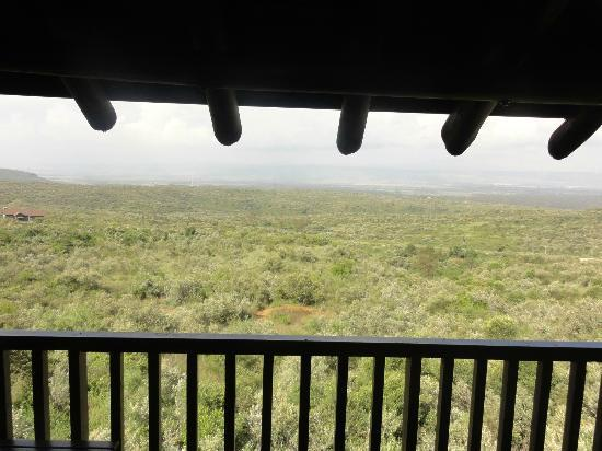 Great Rift Valley Lodge & Golf Resort: taking in the view