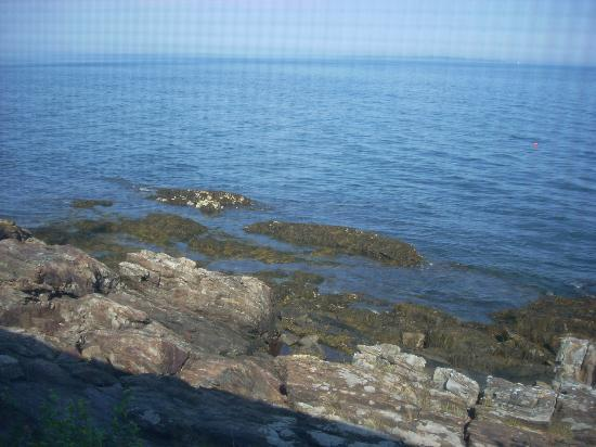 Beloin's on the Maine Coast: The Screened in porch has a million dollar view.