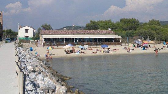 Piombino, Italië: Bar Ristorante La scogliera - Carbonifera