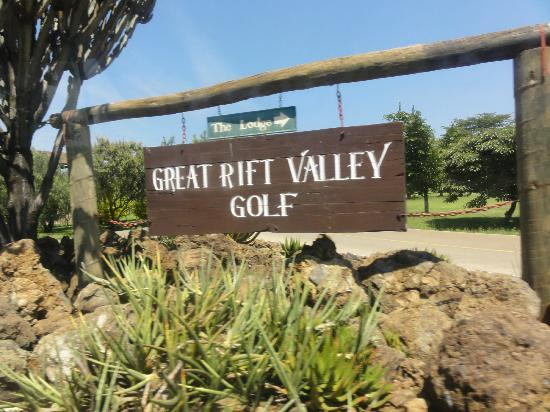 Great Rift Valley Lodge & Golf Resort: the welcome