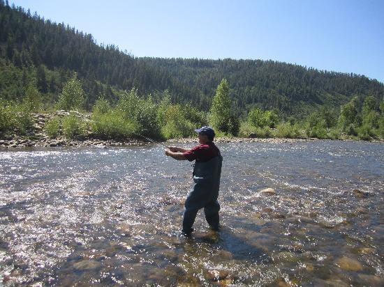 Majestic Dude Ranch: Fly fishing!!!