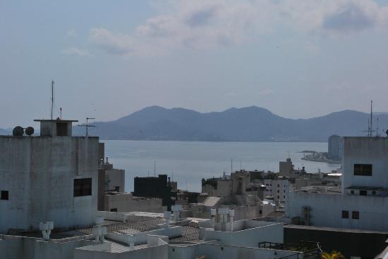 Mercure Florianopolis Centro: Vista do café da manhã
