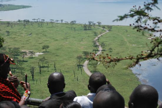 Great Rift Valley Lodge & Golf Resort: amazing view