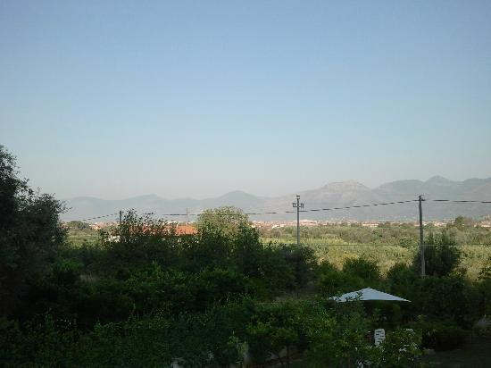 Villa Capri Bed and Breakfast: Overview from the terrace