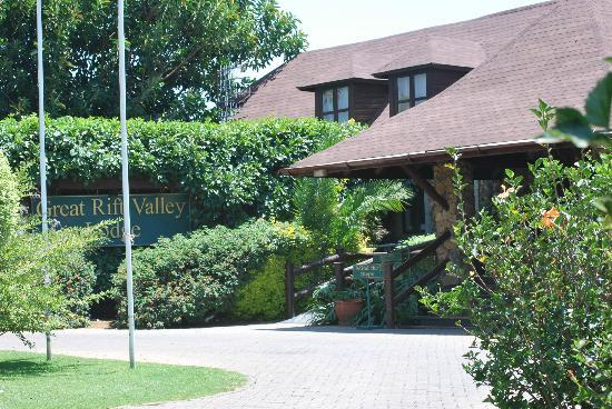 Great Rift Valley Lodge & Golf Resort: front entrance
