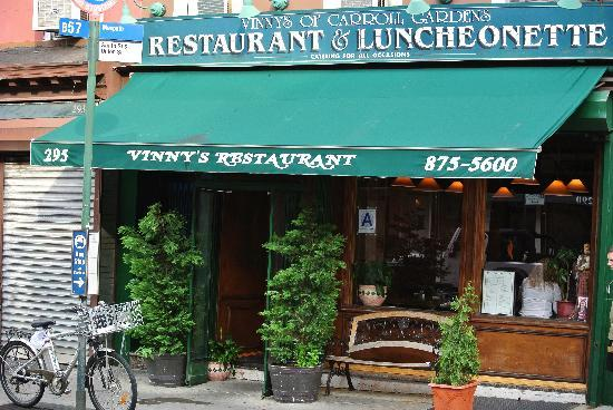 Photo of Italian Restaurant Vinny's Restaurant at 295 Smith St, Brooklyn, NY 11231, United States