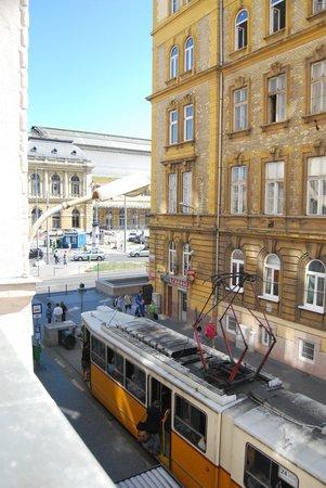 Novum Hotel Golden Park Budapest: Desde mi balcón