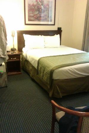 Ramada Gaslamp Convention Center: Good bed with a nice mattress and bedding.