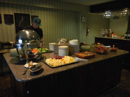 Hilton Tucson East: Excecutive lounge