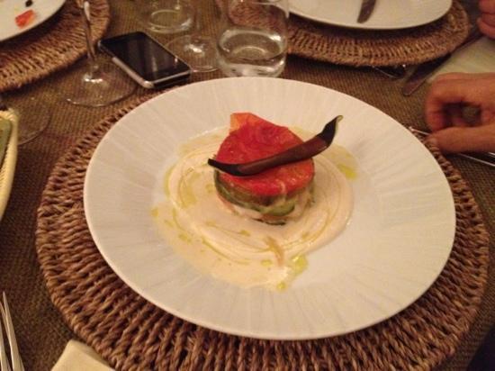 Osteria Torromeo: millefoglie di verdure !!!