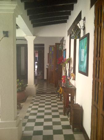 Hotel Casa Amani: Hall