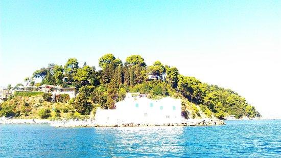 Hotel Hellinis Kanoni: island