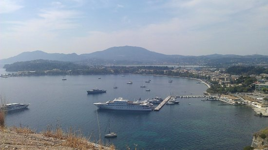 CNic Hellinis Hotel: corfu town, fortress