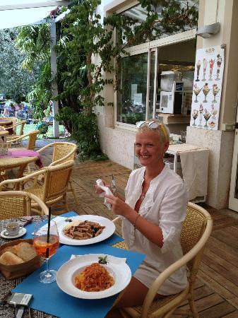 Hotel Baia Azzurra : вкусная паста