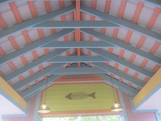 Pics for house roof ceiling for Sanibel fish house