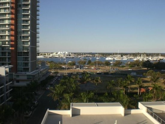 Southport, ออสเตรเลีย: 9th floor view to seaworld