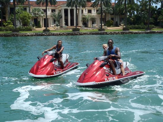 Jetski Tours Of Miami At Star Island