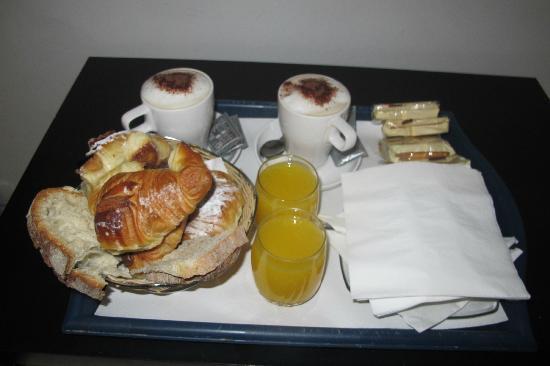 Auditorium di Mecenate: Café da manhã