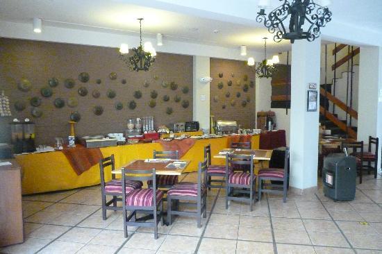 Casa Andina Standard Puno: Breakfast area