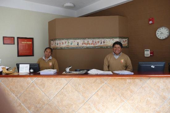 Casa Andina Standard Puno: Friendly staff