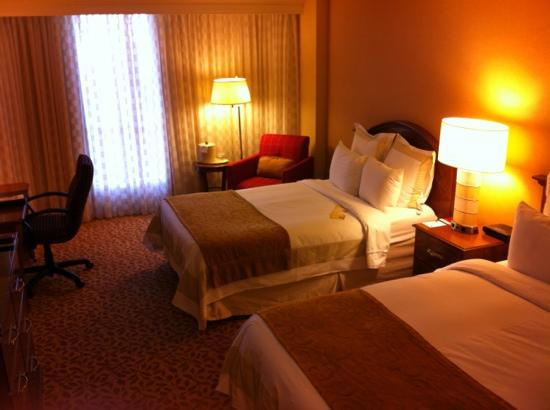 Durham Marriott City Center: chambre double