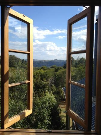 Spotted Chook Ferme Auberge: amazing view