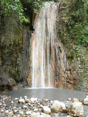 Treasure Tours St. Lucia : St. Lucia sightseeing tours-Diamond falls