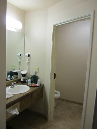 La Quinta Inn & Suites Great Falls: Basin area leading to the bathroom