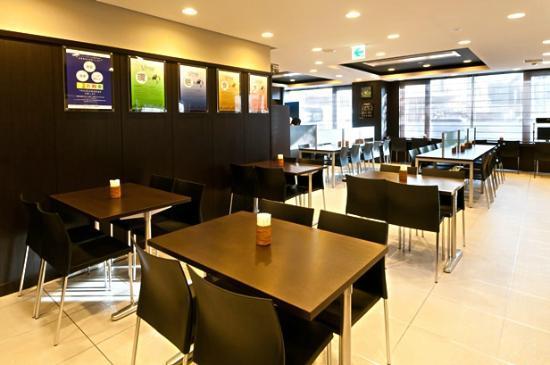 Super Hotel Chibaekimae: 朝食コーナー