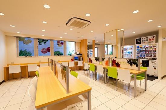 Super Hotel Saitama Wakoshi-ekimae: 朝食コーナー