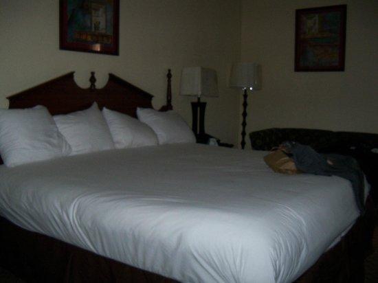 Dawson Village Inn: das Bett