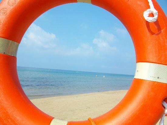 Ganimede Hotel: spiaggia